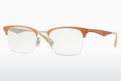 brille Ray-Ban RX6360 2920 - Sølv, Brun