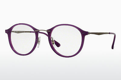 brille Ray-Ban RX7073 5617 - Purpur, Violet