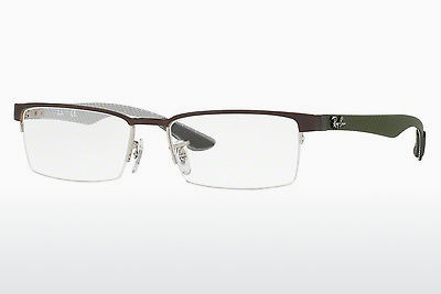 brille Ray-Ban RX8412 2892 - Sølv, Brun
