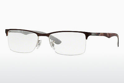 brille Ray-Ban RX8413 2892 - Sølv, Brun