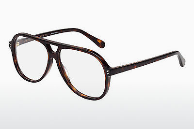 brille Stella McCartney SC0016O 004 - Brun, Havanna