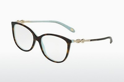 brille Tiffany TF2143B 8134 - Blå, Brun, Havanna