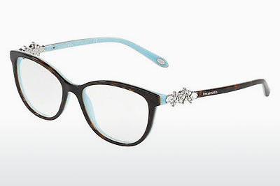 brille Tiffany TF2144HB 8134 - Brun, Havanna, Blå