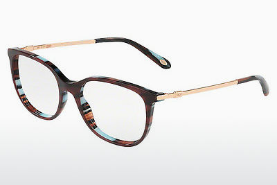 brille Tiffany TF2149 8207 - Rød, Blå, Brun, Havanna