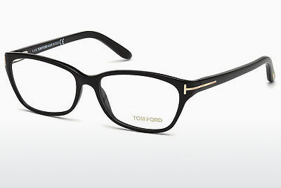 brille Tom Ford FT5142 001 - Sort, Shiny
