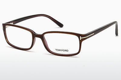 brille Tom Ford FT5209 047 - Brun, Bright