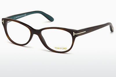 brille Tom Ford FT5292 052 - Brun, Dark, Havana