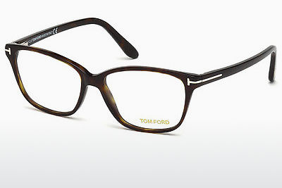 brille Tom Ford FT5293 052 - Brun, Dark, Havana