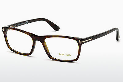 brille Tom Ford FT5295 52A - Brun, Dark, Havana