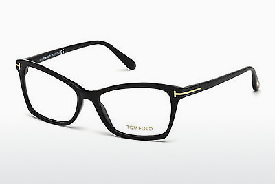 brille Tom Ford FT5357 001 - Sort, Shiny