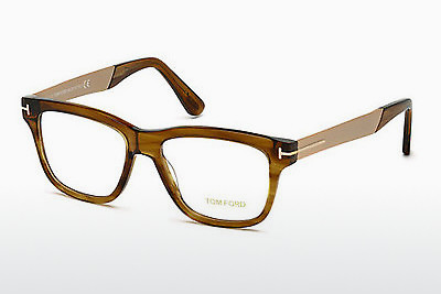 brille Tom Ford FT5372 048 - Brun, Dark, Shiny