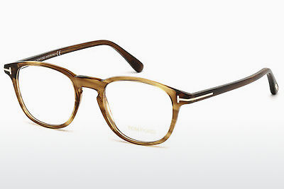 brille Tom Ford FT5389 048 - Brun, Dark, Shiny