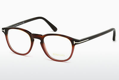 brille Tom Ford FT5389 054 - Havanna, Red