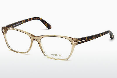 brille Tom Ford FT5405 045 - Brun, Bright, Shiny
