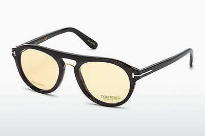brille Tom Ford FT5438-P 64E - Horn, Horn, Brown