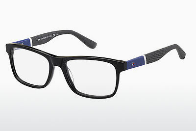brille Tommy Hilfiger TH 1282 FMV - Sort, Blå, Hvit, Grå