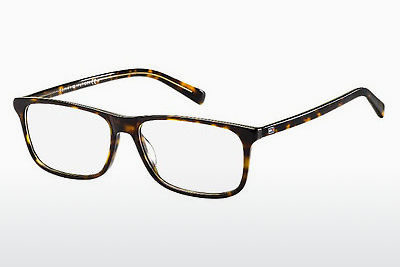brille Tommy Hilfiger TH 1452 A84 - Gul, Brun, Havanna