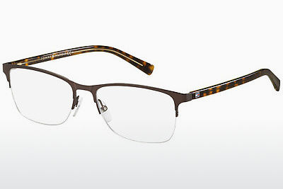 brille Tommy Hilfiger TH 1453 B0Q - Brun, Havanna, Gul