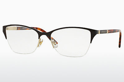 brille Versace VE1218 1344 - Brun, Gull