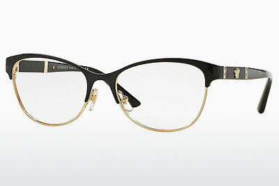 brille Versace VE1233Q 1366 - Sort