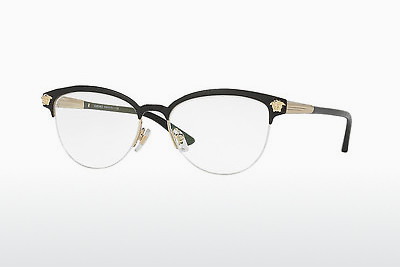 brille Versace VE1235 1371 - Sort, Gull