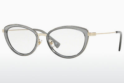 brille Versace VE1244 1399 - Gull, Grå, Transparent
