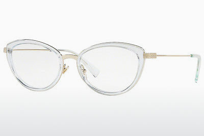 brille Versace VE1244 1405 - Gull, Blå, Transparent
