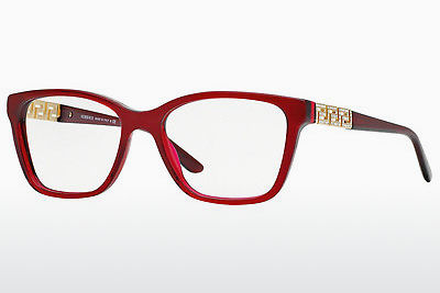 brille Versace VE3192B 388 - Transparent, Rød