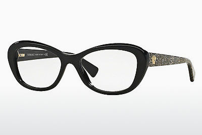 brille Versace VE3216 5156 - Sort