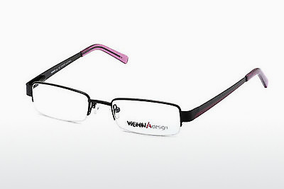 brille Vienna Design UN334 01 - Sort