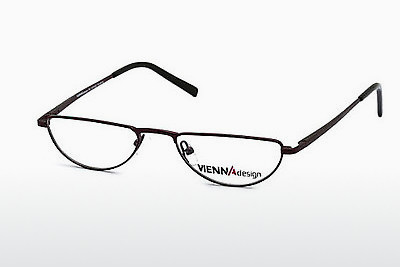brille Vienna Design UN387 03 - Rød, Bordeaux