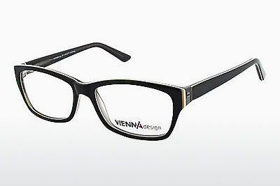 brille Vienna Design UN526 01 - Sort