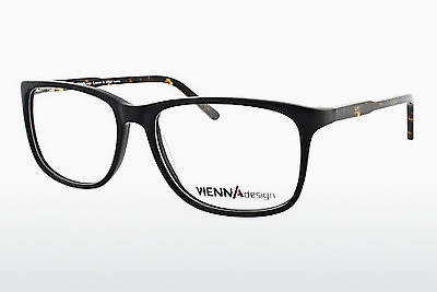brille Vienna Design UN548 03 - Sort