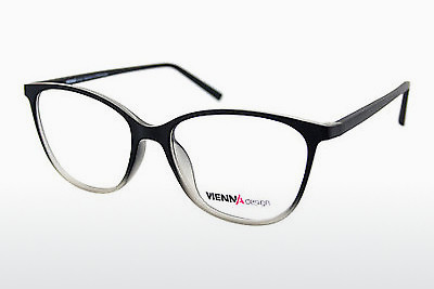brille Vienna Design UN576 04 - Sort