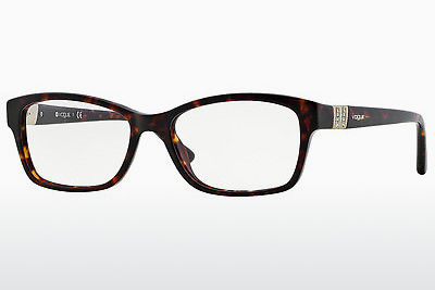 brille Vogue VO2765B W656 - Brun, Havanna