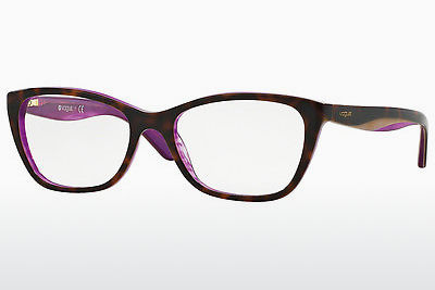 brille Vogue VO2961 2019 - Purpur, Brun, Havanna