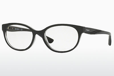 brille Vogue VO5103 2385 - Sort, Transparent, Grå