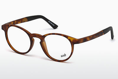 brille Web Eyewear WE5186 053 - Havanna, Yellow, Blond, Brown