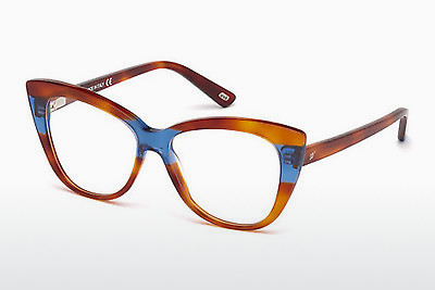 brille Web Eyewear WE5197 053 - Havanna, Yellow, Blond, Brown