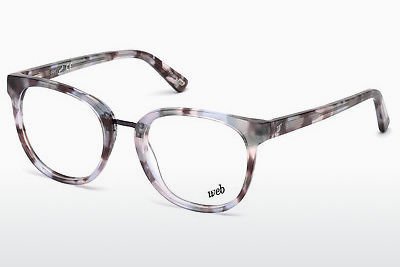 brille Web Eyewear WE5228 081 - Purpur, Shiny