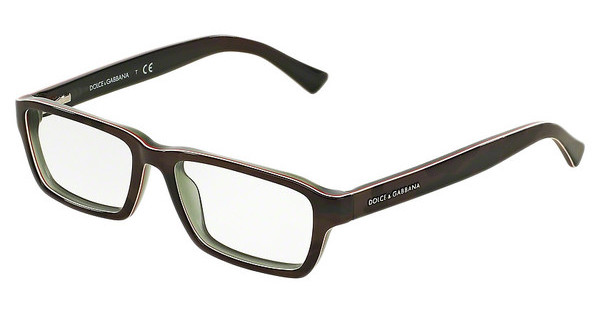 Dolce & Gabbana DG3230 2952 CAMO/FLUO RED/BROWN
