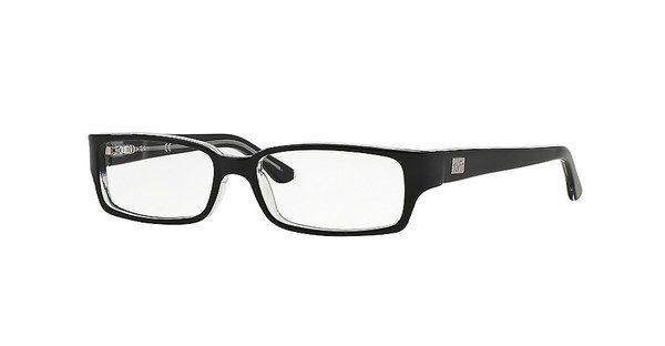 Ray-Ban RX5092 2034 TOP BLACK ON TRANSPARENT