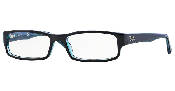 Ray-Ban RX5246 5092 BLACK/GREY/TURQUOISE