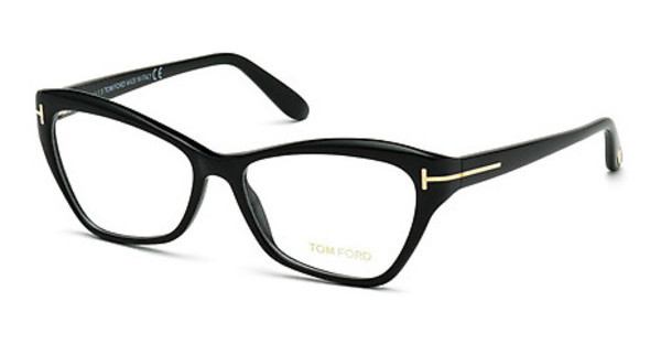 Tom Ford FT5376 001 schwarz glanz