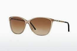 solbrille Burberry BE4117 301213 - Rosa, Sand