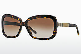 solbrille Burberry BE4173 300213 - Brun, Havanna