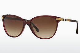solbrille Burberry BE4216 301413 - Rød
