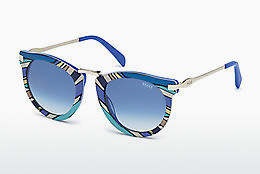 solbrille Emilio Pucci EP0025 89W - Blå, Turquoise