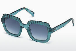 solbrille Just Cavalli JC748S 87W - Blå, Turquoise, Shiny