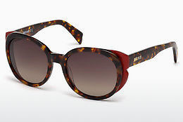 solbrille Just Cavalli JC756S 54F - Havanna, Red